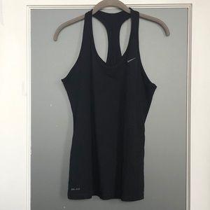 Nike Women's DriFit Racerback Black Tank Top